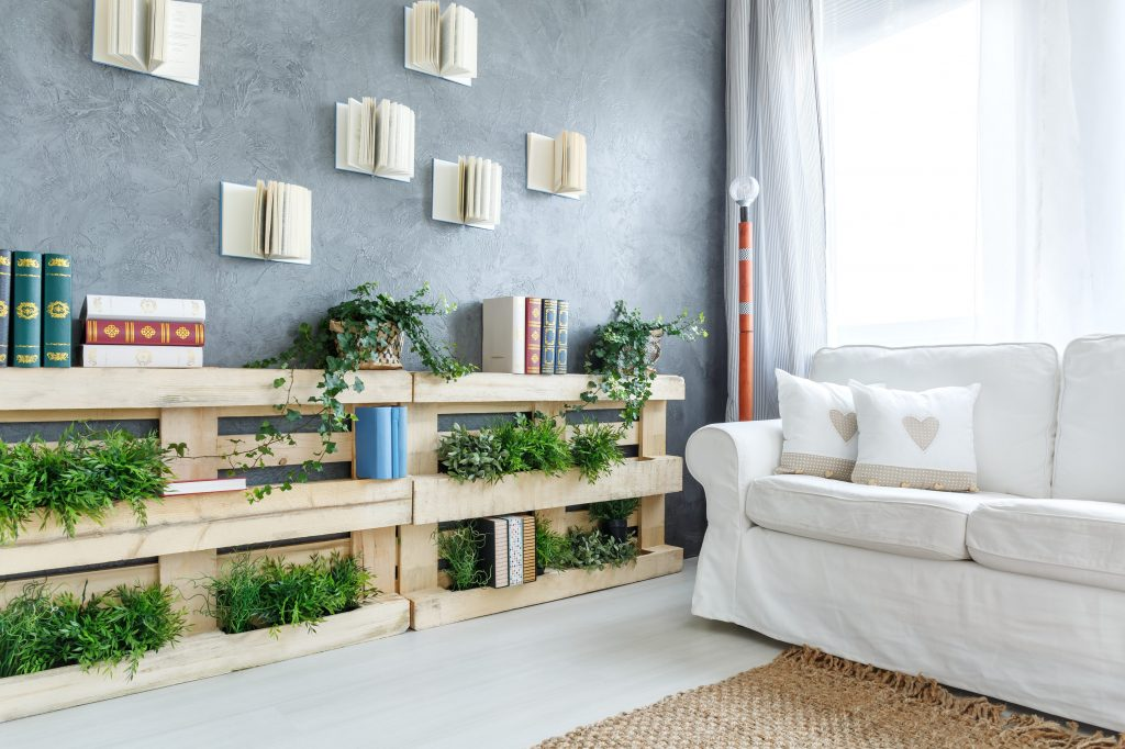 Riciclo dei bancali 4 idee green per arredare la tua casa for Idee per la casa originali