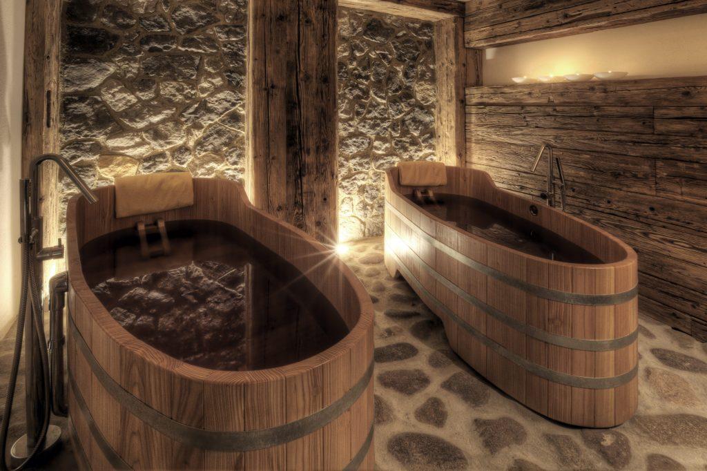Vasca Da Bagno Giapponese In Legno : Il bagno nella tinozza è un rituale di benessere ma stavolta i