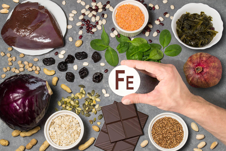 mancanza di ferro nella tua dieta