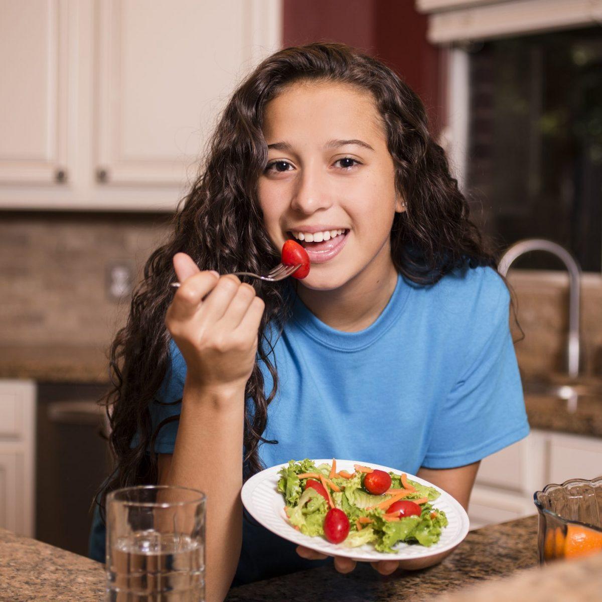 un menu per una dieta equilibrata