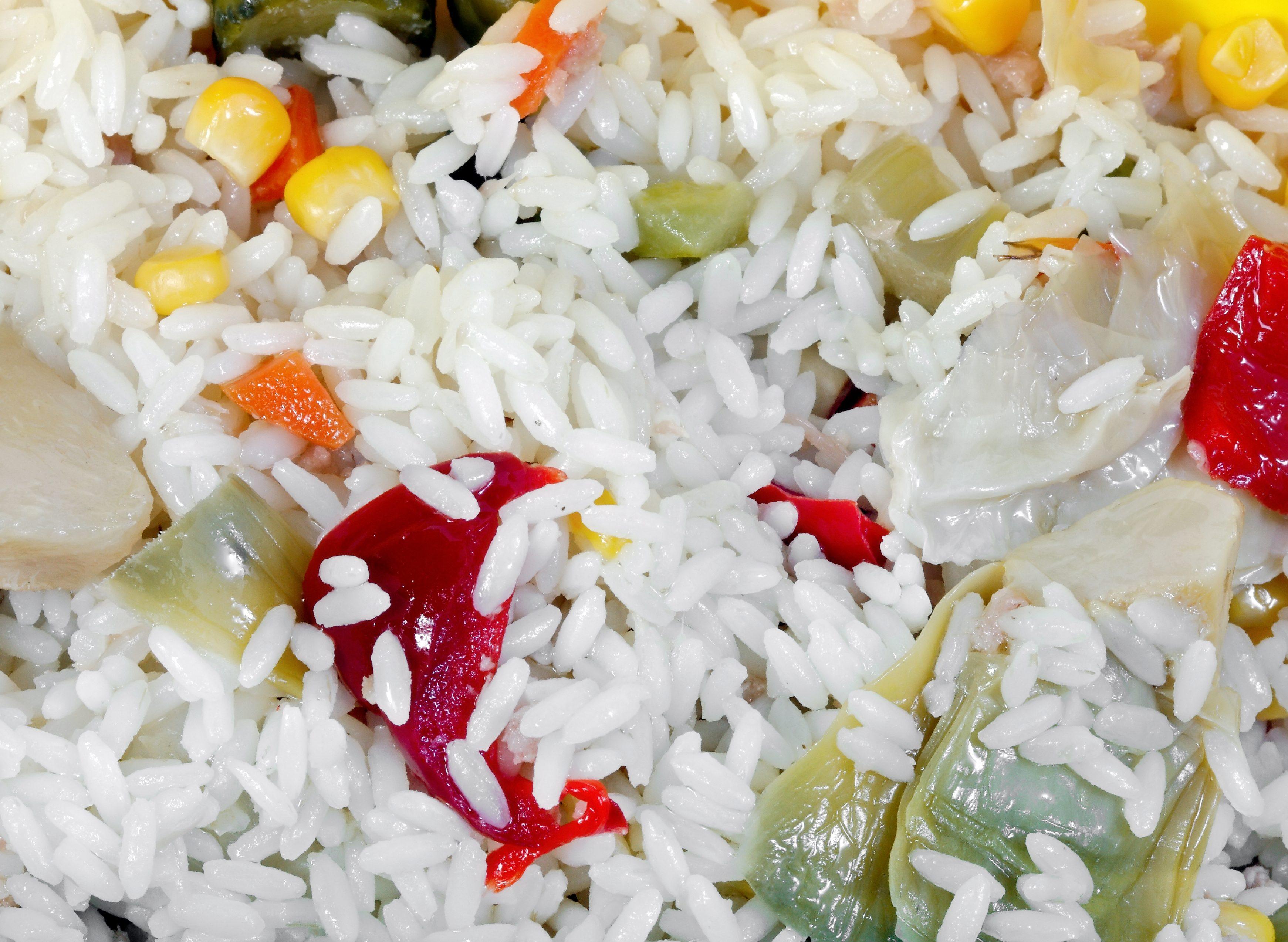 dieta morbida di riso bollito