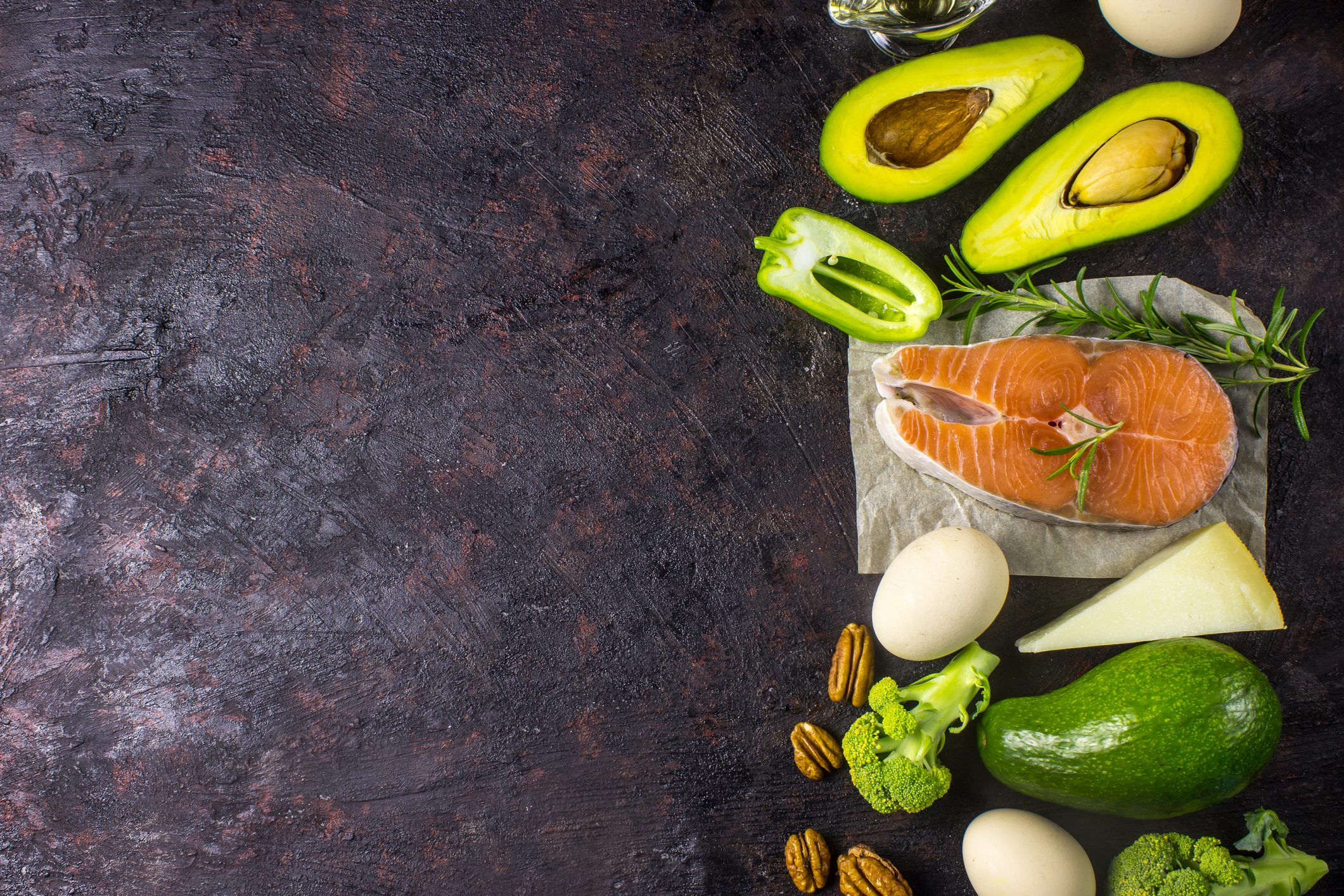 menu dietetico chetogeno di 50 giorni