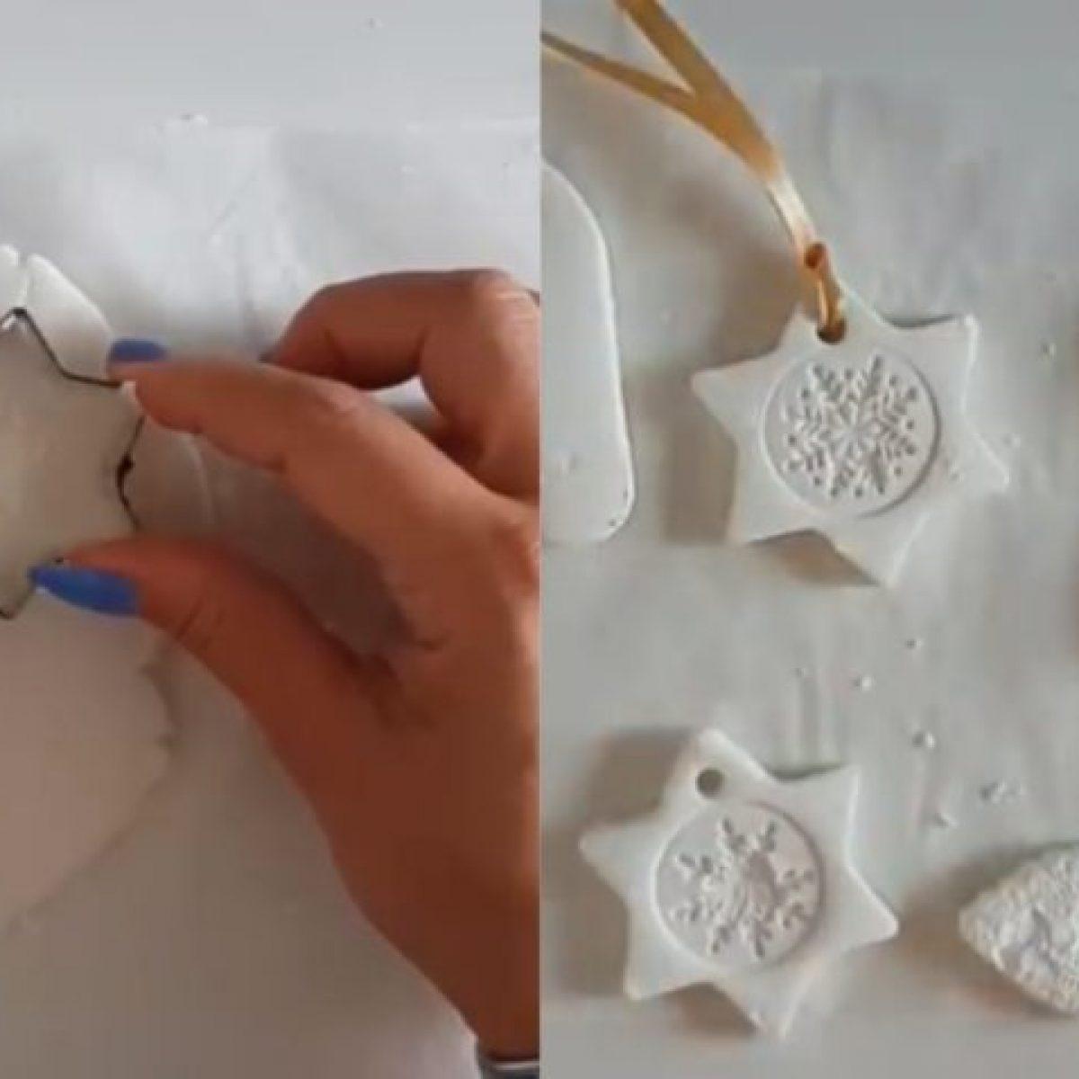 Lavoretti Di Natale Con La Pasta Di Mais.Come Preparare La Pasta Di Bicarbonato In Casa Per I Tuoi Lavoretti Di Natale Ohga