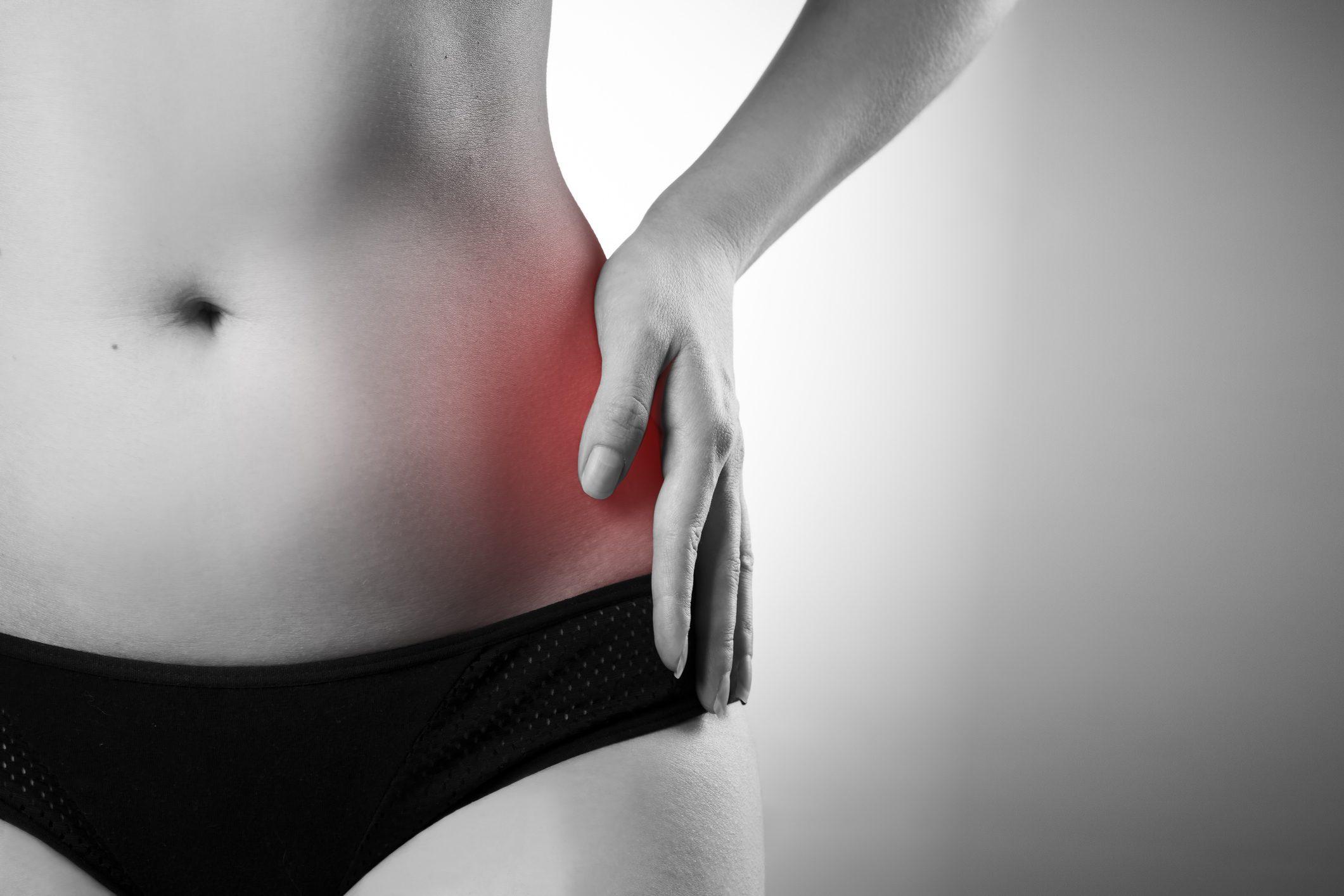 pressione dolorosa addominale allinguine