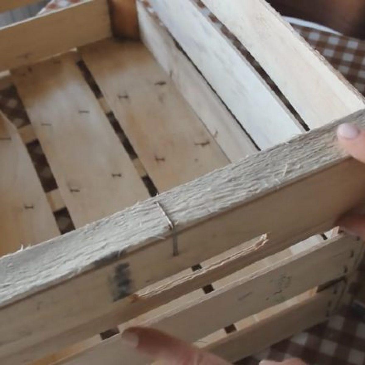 Cassette Della Frutta Legno come riciclare le cassette della frutta e creare un oggetto