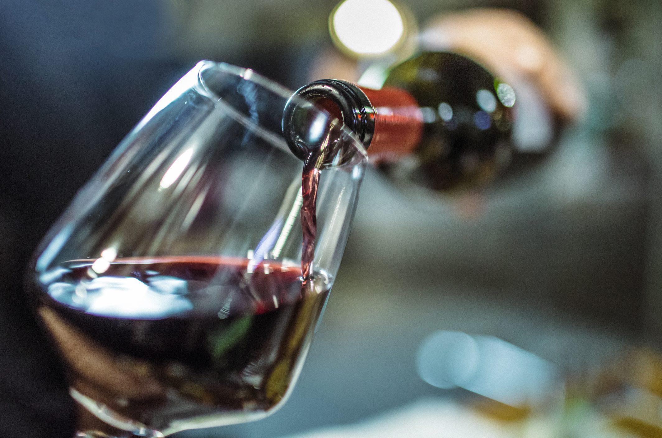 Foto Bicchiere Di Vino