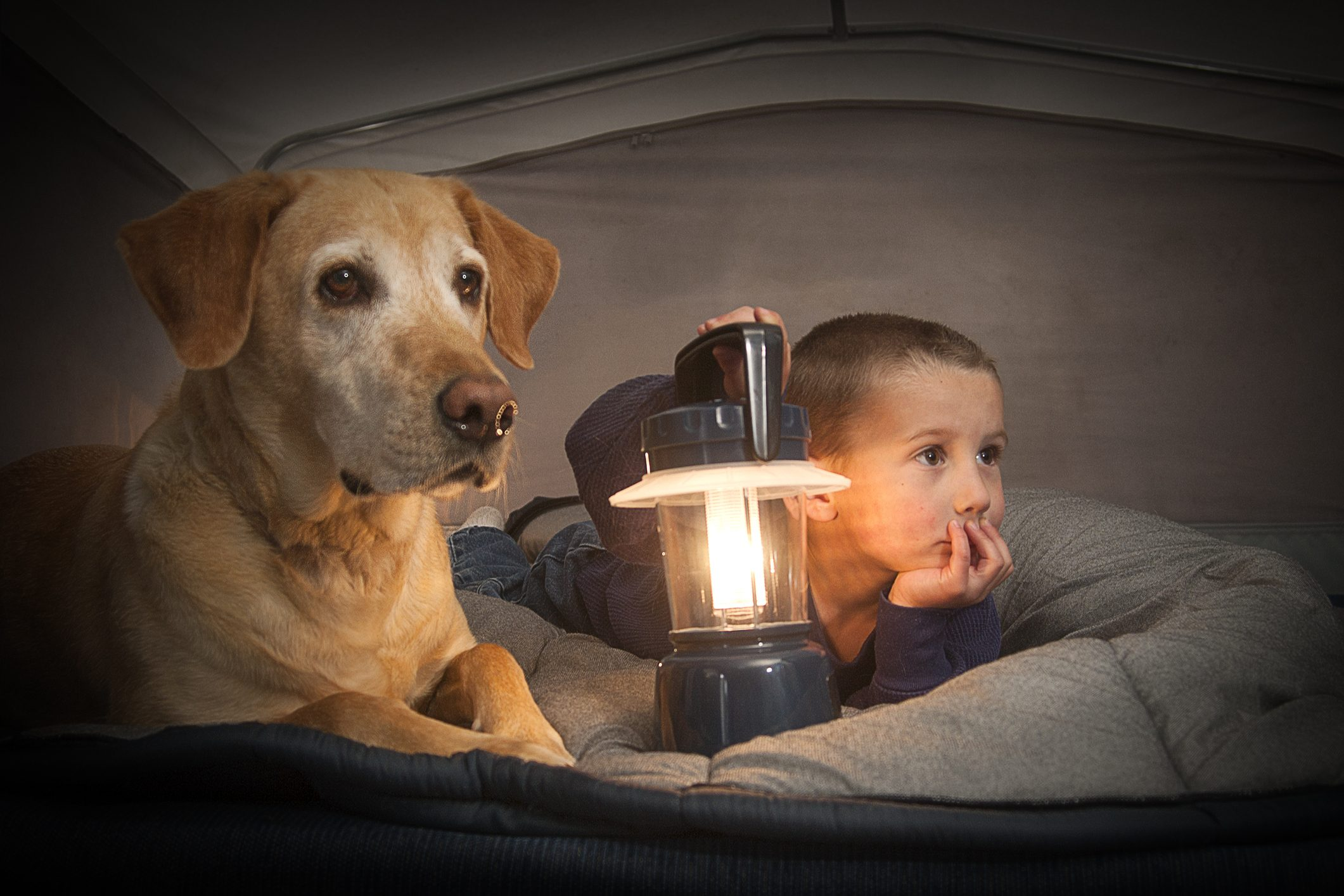 lampada campeggio bambini fai da te