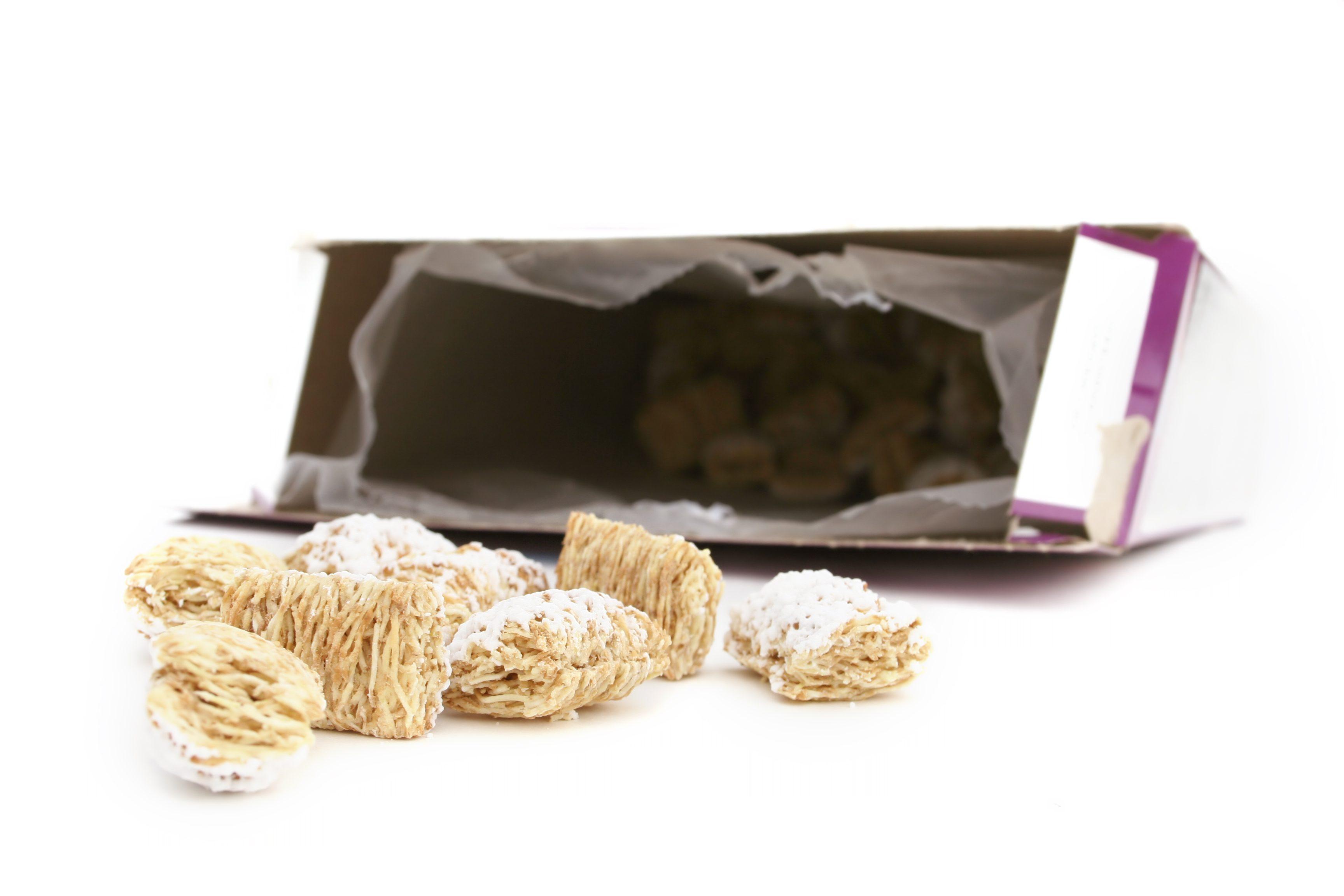 Riciclo creativo scatole cereali