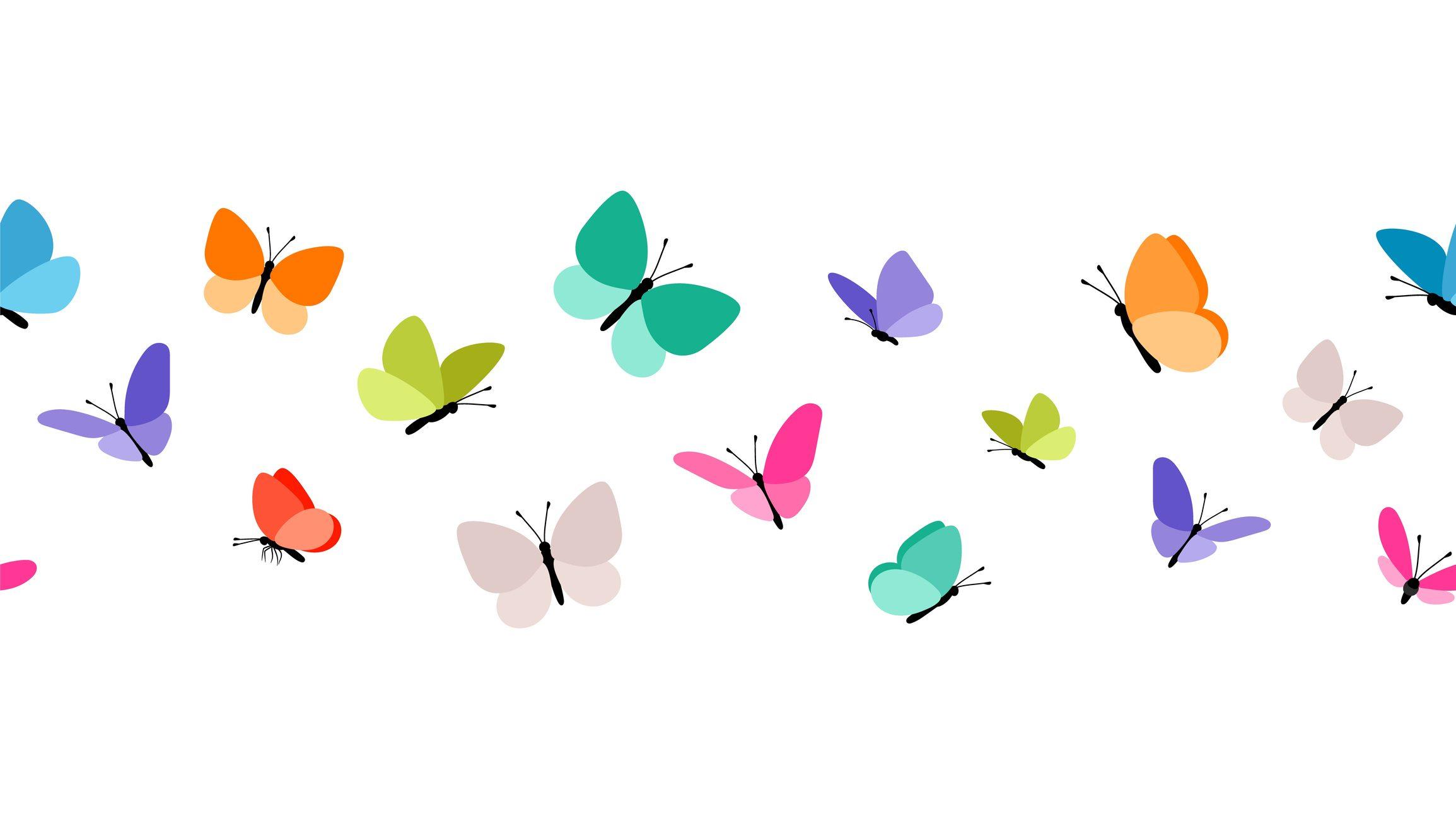 farfalle carta riuso creativo