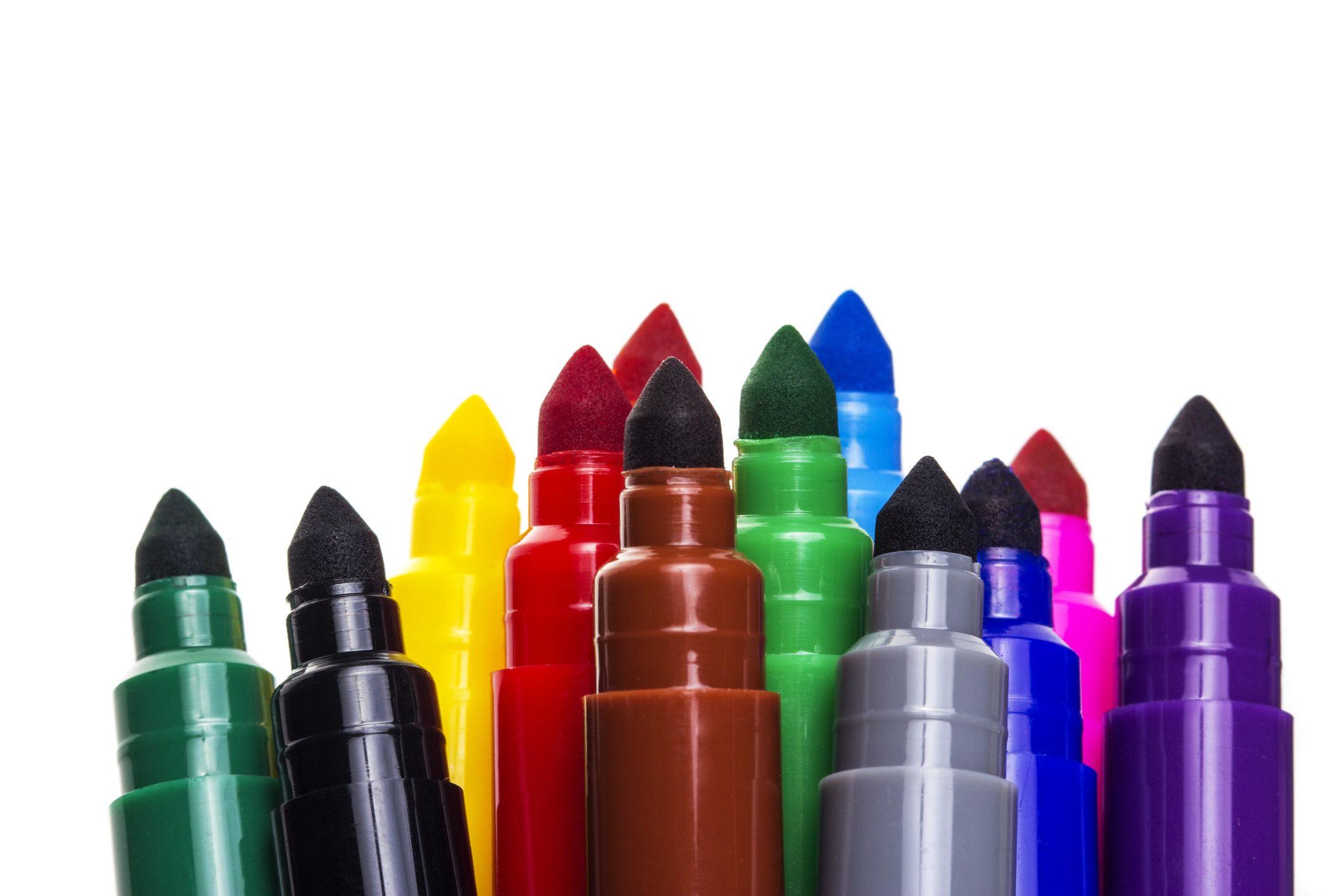 come riciclare pennarelli