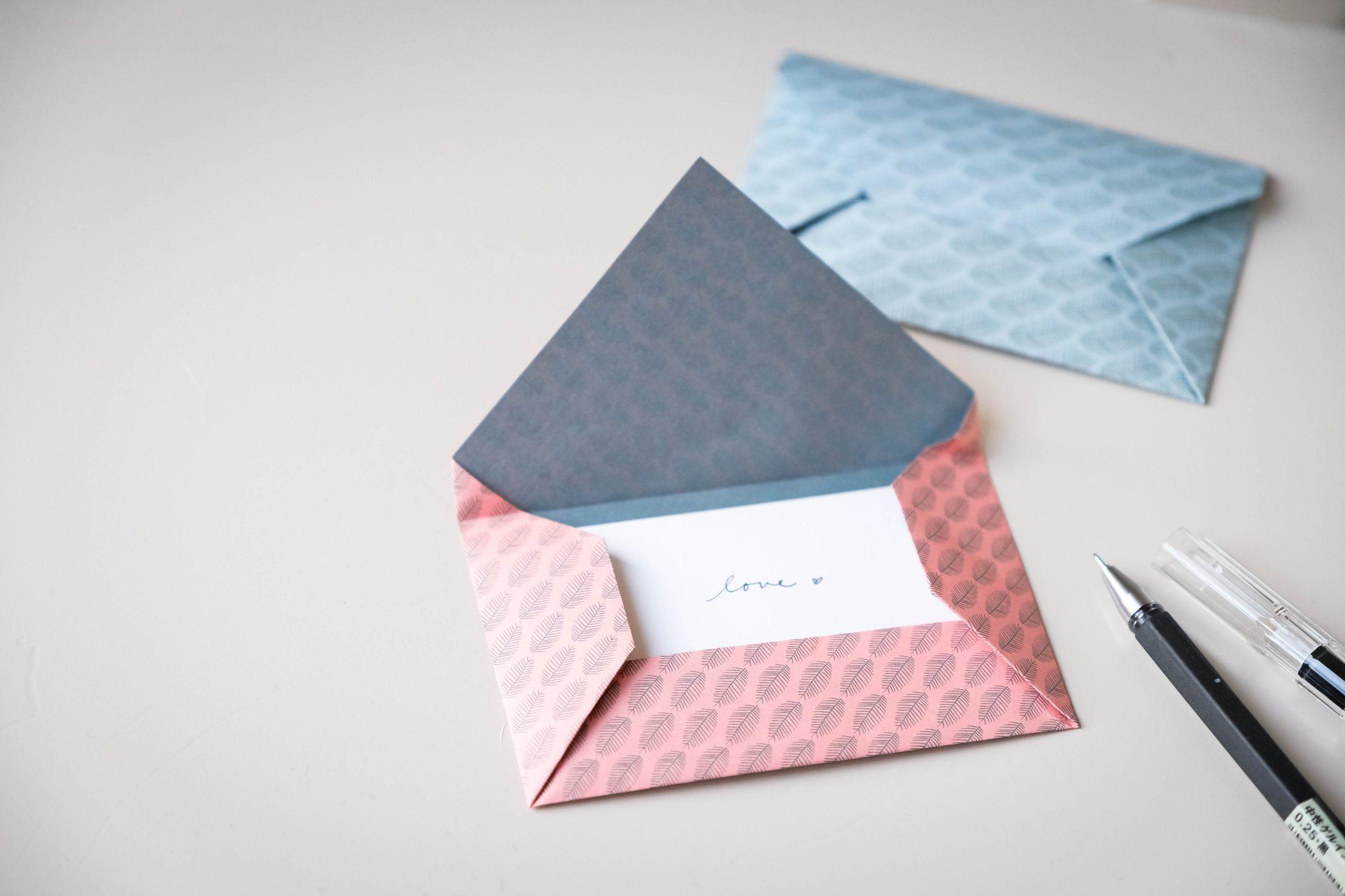 origami facili bustine