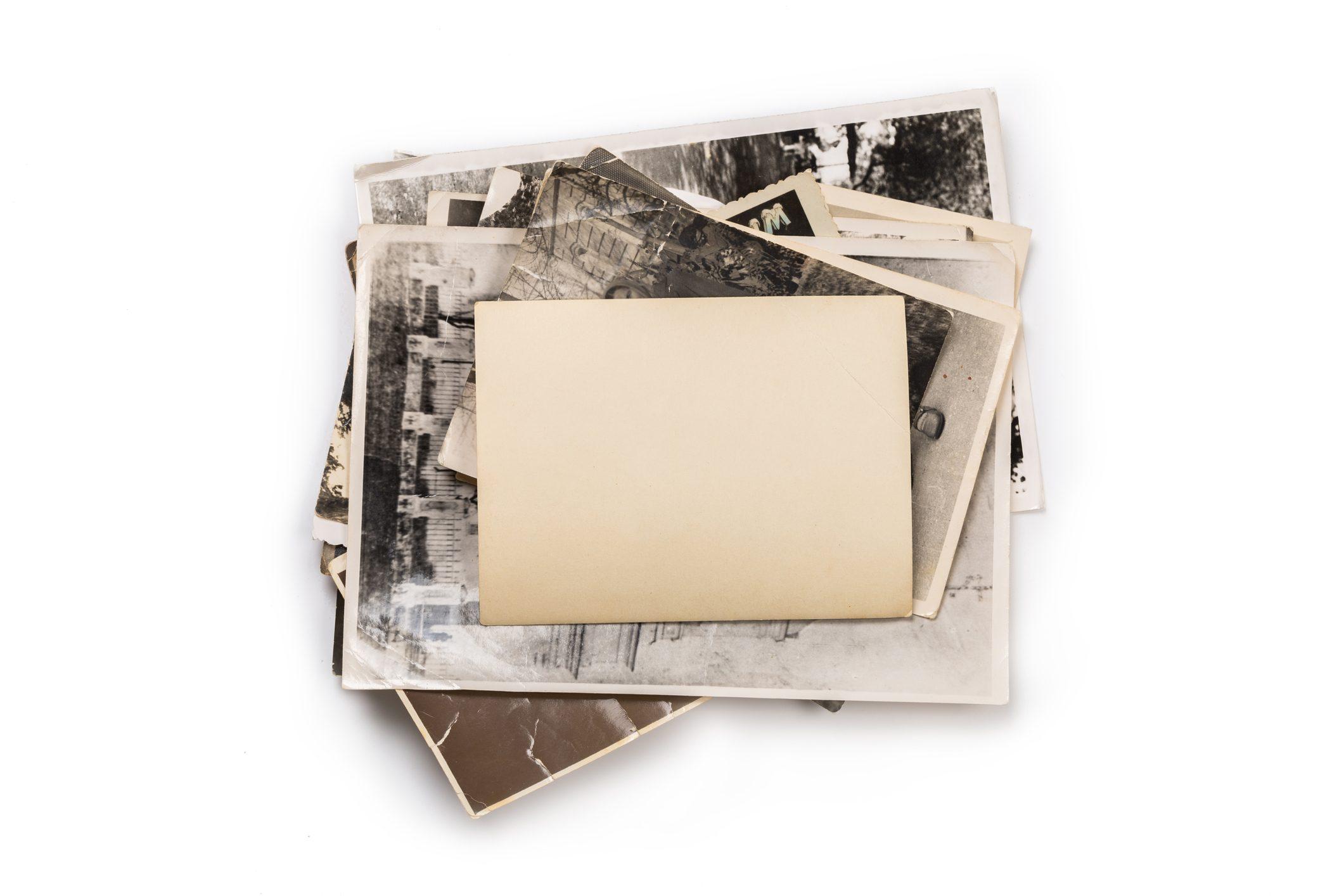 Sottobicchieri personalizzati con vecchie foto