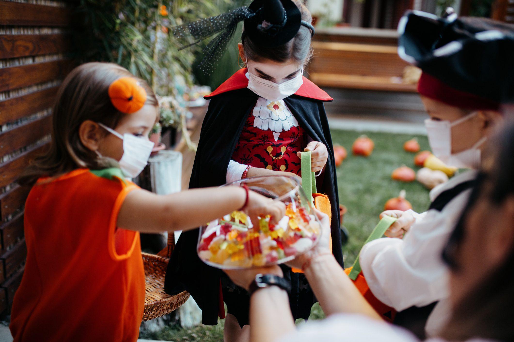 Sacchetto Halloween fai da te